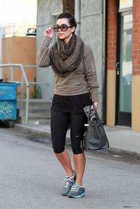 Latest Pictures of Kim Kardashian Leaving the Gym in Style - Kim Kardashian - Zimbio