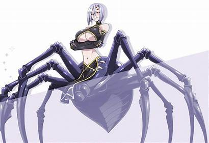 Woman Musume Monster Arachnera Rachnera Characters Breeding