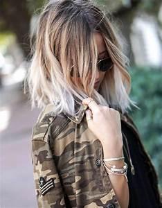 Ombré Hair Blond Foncé : ombr hair blanc ombr hair les plus beaux d grad s de couleur elle ~ Nature-et-papiers.com Idées de Décoration