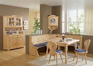 Eckbank Auflagen Set : laura eckbank fichte 195x195 mit truhe fichte massiv ~ Michelbontemps.com Haus und Dekorationen