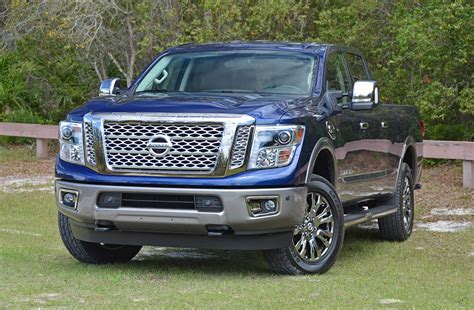 Titan Xd Diesel Review by 2018 Nissan Titan Xd Diesel Crew Cab Review Test Drive