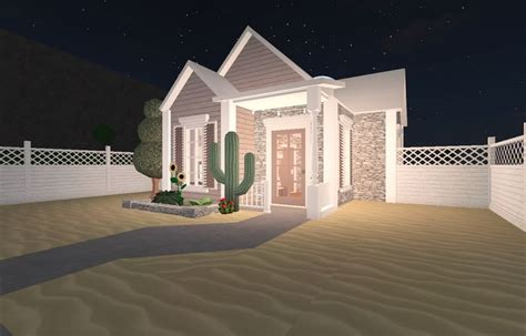 bloxburg tiny aesthetic house cheap houses  build house designs exterior unique house design