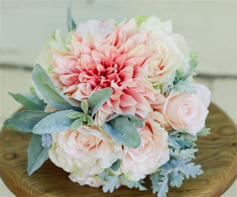 With A Soft And Feminine Color Scheme This Bouquet Can Be