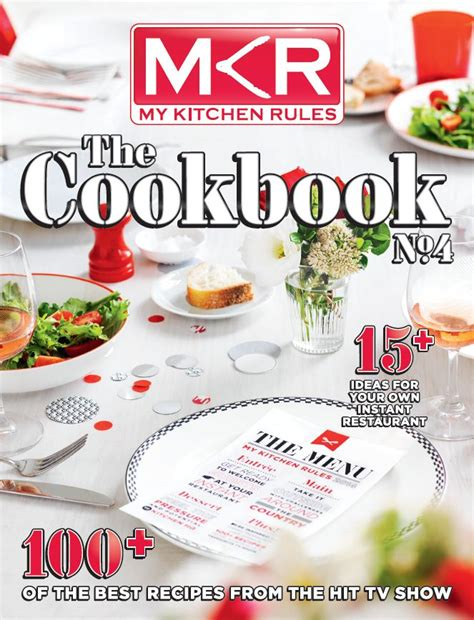 my kitchen book pacific magazines channel 7 launch mkr the cookbook 4 mpa