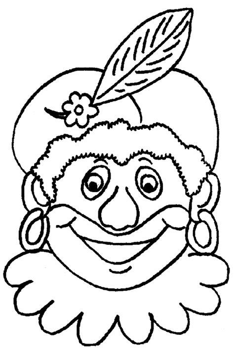 Kleurplaat Piet En Sint by Sinterklaas Kleurplaten Sint En Piet Zwarte