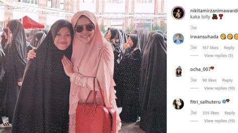 Nikita Mirzani Ngamuk Instagram Cari Anak Pesantren