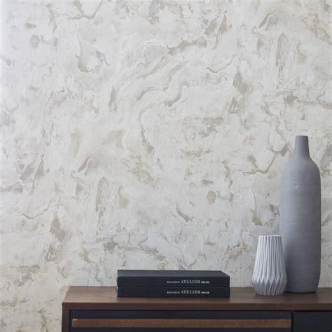 papier peint intiss 233 marbre beige leroy merlin