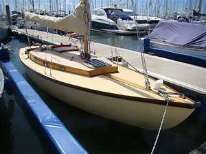 English Folkboat Wooden Sailing Yacht For Sale
