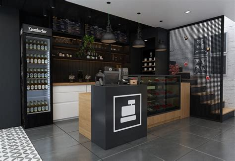 Thinking of opening a coffee shop? Cafe Bar Counter Cashier Counter For Food Shop Coffee Shop Design