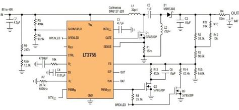 Sealed Lead Acid Battery Charger Circuit Diagram World