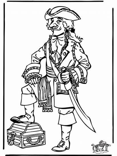 Pirate Coloring Pirat Pirates Ausmalbilder Malvorlagen Jack