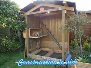 Construire Un Poulailler En Bois : poulailler construit avec du bois de palettes youtube ~ Melissatoandfro.com Idées de Décoration