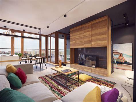 inspiration cuisine ouverte appartement moderne au design minimaliste et chaleureux à