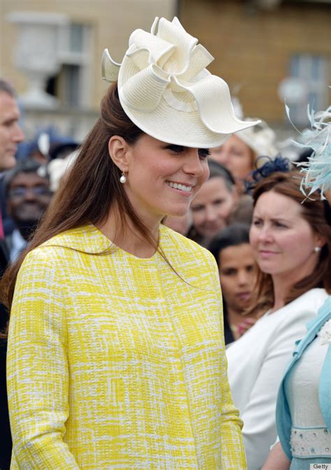 Kate Middleton's Garden Party Hat Is A Bold Look (photos