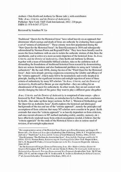 Reconstruction Jesus Essay Titles Essays Era Examples