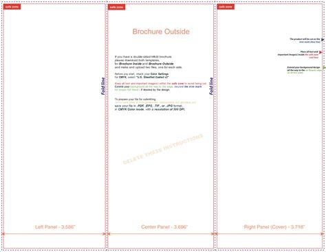 free microsoft word brochure templates tri fold free tri fold brochure templates microsoft word brochure