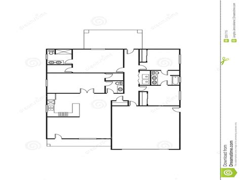 single house plans single family house plans free single floor house plans