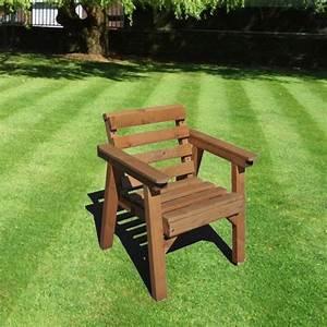 Meubles De Jardin Patio Dfinir Seule Chaise Bois Massif