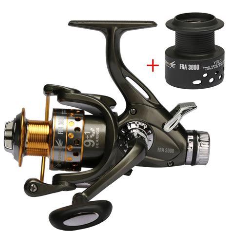 buy dual brake feeder spinning reel