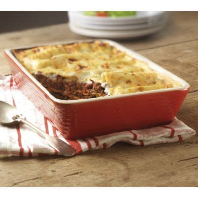 Toaster Oven Lasagna - lakeland stoneware lasagne dish in oven to tableware at