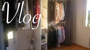 Dressing Ouvert Pas Cher : vlog dressing pas cher conseils rangement youtube ~ Melissatoandfro.com Idées de Décoration