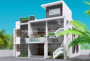 Next Gen Modern House Elevation Design Photo From Triangle