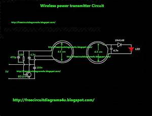 Free Circuit Diagrams 4u  Wireless Power Transmitter