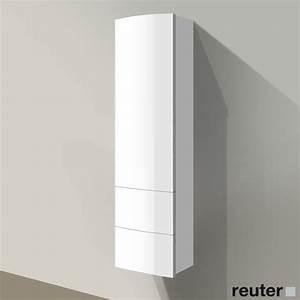 Bad Hochschrank Weiß Glänzend : badm bel hochschrank 40 cm breit haus ideen ~ Frokenaadalensverden.com Haus und Dekorationen