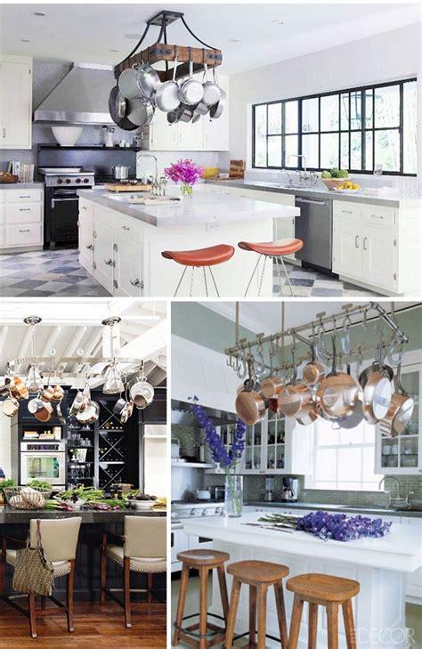 241 best pot racks images on pinterest dream kitchens