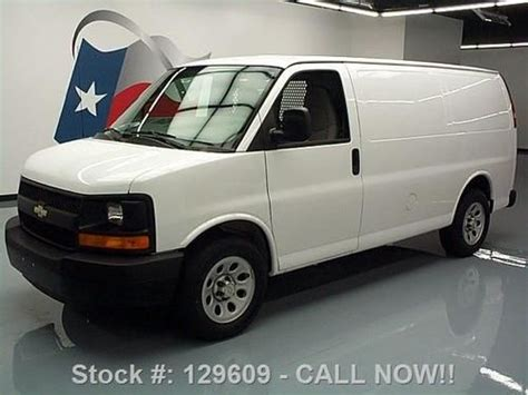 automotive service manuals 2009 chevrolet express 1500 electronic throttle control buy used 2009 chevy express 1500 cargo van 4 3l v6 shelving 50k texas direct auto in stafford