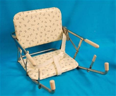Vtg Bilt Rite Booster Seat Baby Feeding Portable High