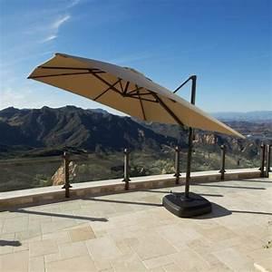 Portofino signature patio resort umbrella backyard for Costco patio umbrella