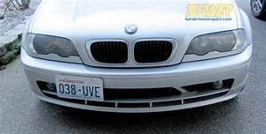 G-bmw30 - No Holes License Plate Bracket