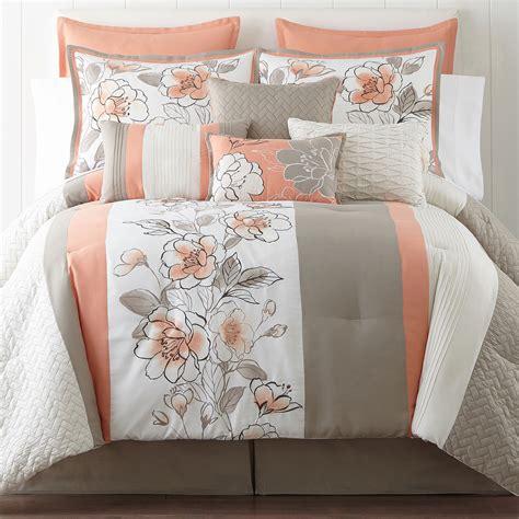 10 pc comforter set deals home expressions grace 10 pc comforter set limited bedding sets store