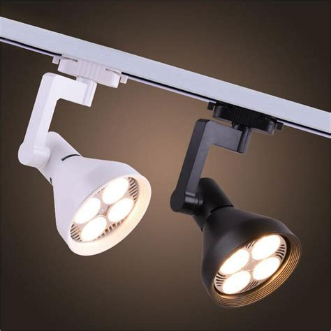 country ceiling fans with 35w led track light bright two wire cob track spot