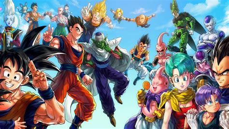 Anime, Dragon Ball, Vegeta, Bulma, Majin Boo, Trunks