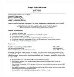 resume template pdf free federal resume template 10 free word excel pdf format download free premium templates
