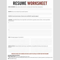 Resume Pt 2  Career Center Resources  Pinterest  Resume And Worksheets