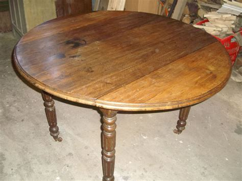 le bon coin table ronde en bois