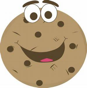 Cartoon Chocolate Chip Cookie Clip Art - Cartoon Chocolate ...