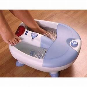 Chaufferette électrique Pour Les Pieds : bain bulles multifonctions pour pieds deluxe mass achat ~ Edinachiropracticcenter.com Idées de Décoration
