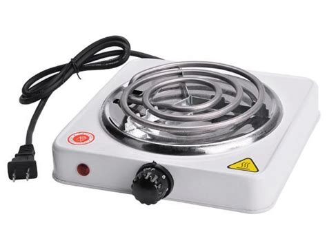 Portable Electric Stove Fifth Burner Hot Plate Heater, New
