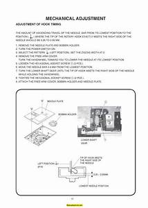 Janome New Home 8050 Sewing Machine Service