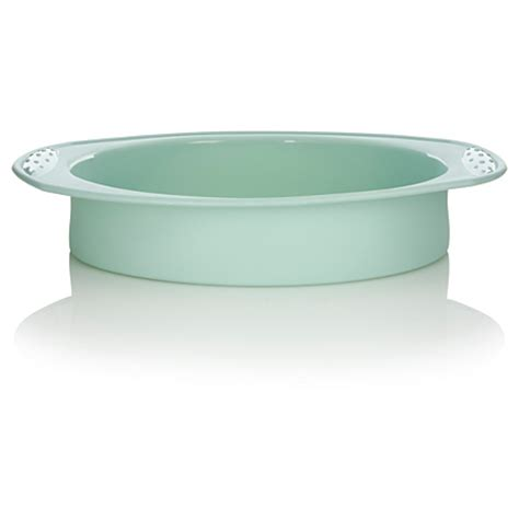 asda cake silicone pan george round baking aqua rollover zoom