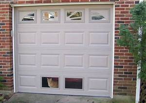 Cat door for window12 inspiration gallery from screen for Dog door for garage door