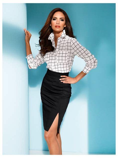 vetement de bureau pour femme les 25 meilleures idées concernant jupe à taille haute sur