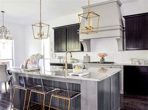 Amazing Kitchen Design With Touches Of Gold by Kitchen Update With Gold Accents By Decor Gold Designs