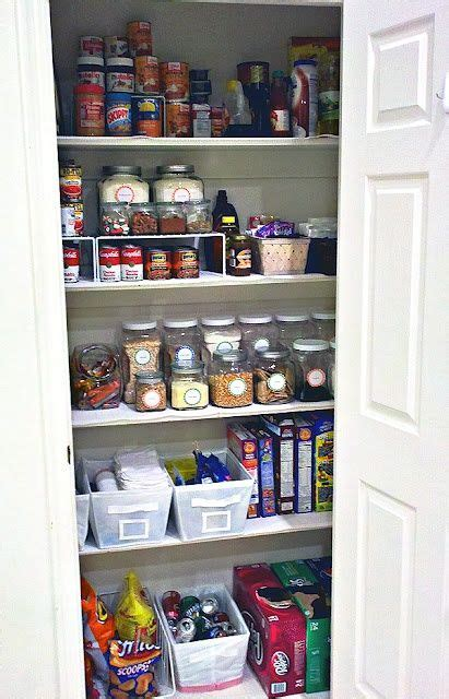cheap kitchen pantry storage pantry organized pantry and tips on 5318