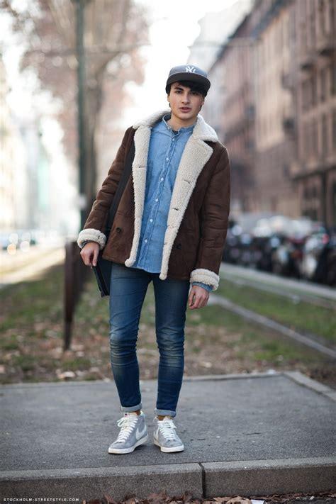 Mens Stockholm street style streetstyle lammy jeans nike sneakers cap shirt fashion men tumblr ...