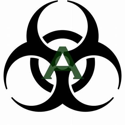 Radiation Cliparts Clipart Symbol Radioactive Logos Biohazard